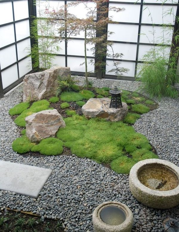 30 japanese garden ideas for decorating your house yard (20)