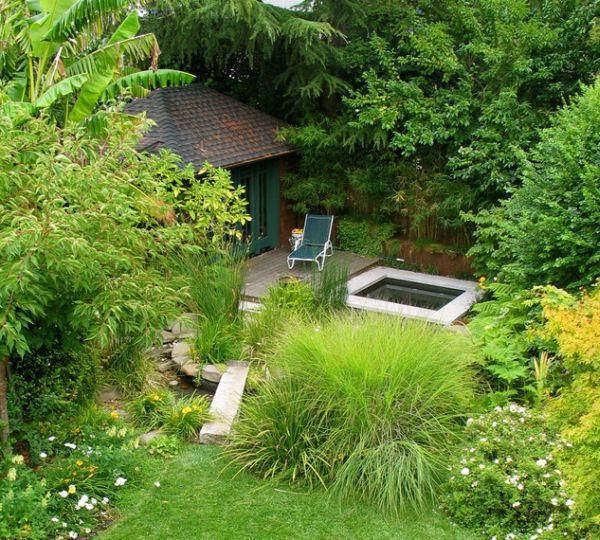 30 japanese garden ideas for decorating your house yard (21)