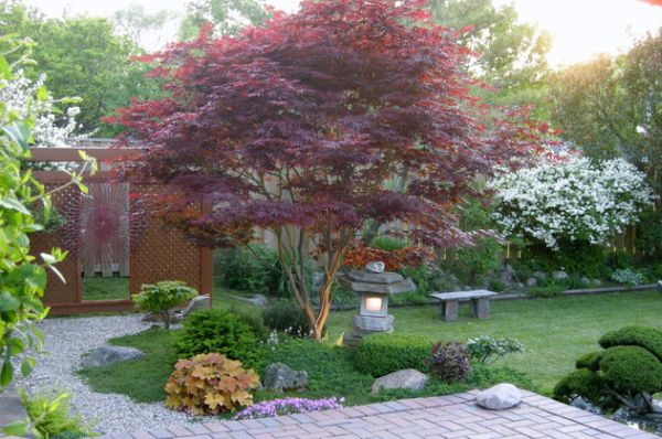 30 japanese garden ideas for decorating your house yard (27)