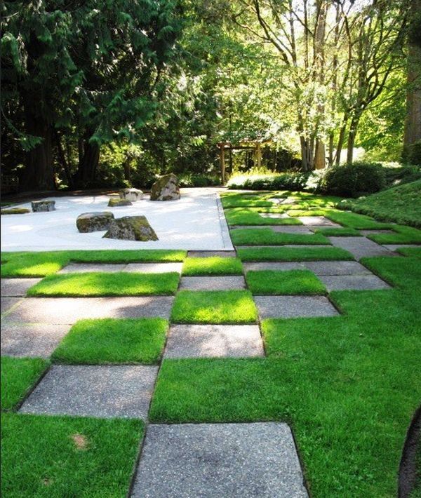 30 japanese garden ideas for decorating your house yard (28)