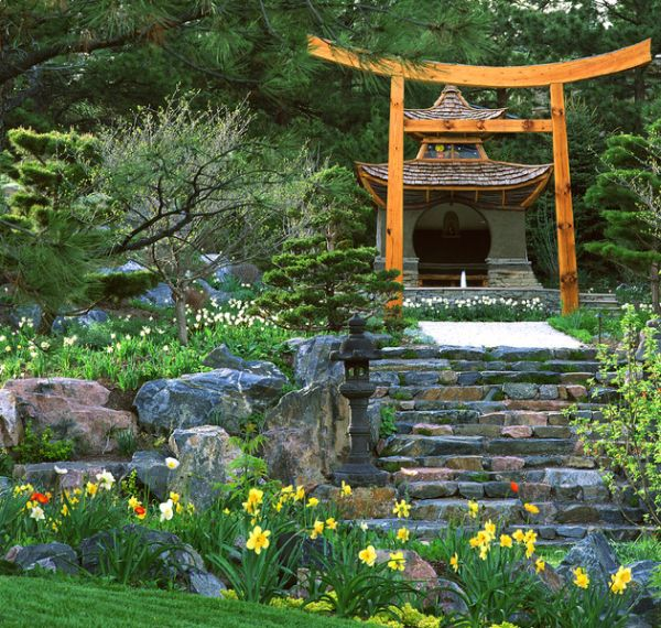 30 japanese garden ideas for decorating your house yard (3)