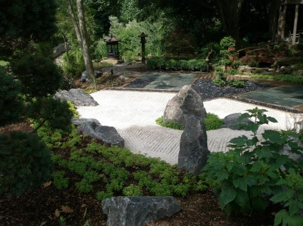 30 japanese garden ideas for decorating your house yard (30)