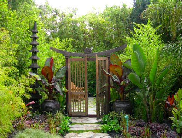 30 japanese garden ideas for decorating your house yard (7)
