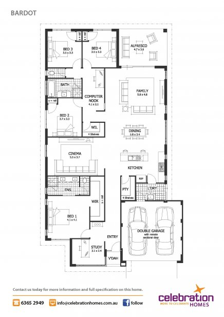 4 bedrooms house to fill happiness family contemporary style (10)