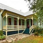 บ้านชั้นเดียวอเมริกันคันทรี ขนาด 2 ห้องนอน ออกแบบให้ภายในกว้างขวาง อยู่สบาย