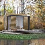 ไอเดียออกแบบบ้าน Eco House รูปทรงโมเดิร์นสมัยใหม่ เพื่อชีวิตเรียบง่ายในอนาคต