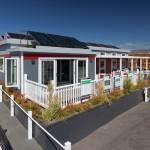 บ้านชั้นเดียวแบบอนุรักษ์พลังงาน ผลิตไฟฟ้าด้วยโซลาร์เซลล์ ตกแต่งภายในอย่างโปร่งโล่ง