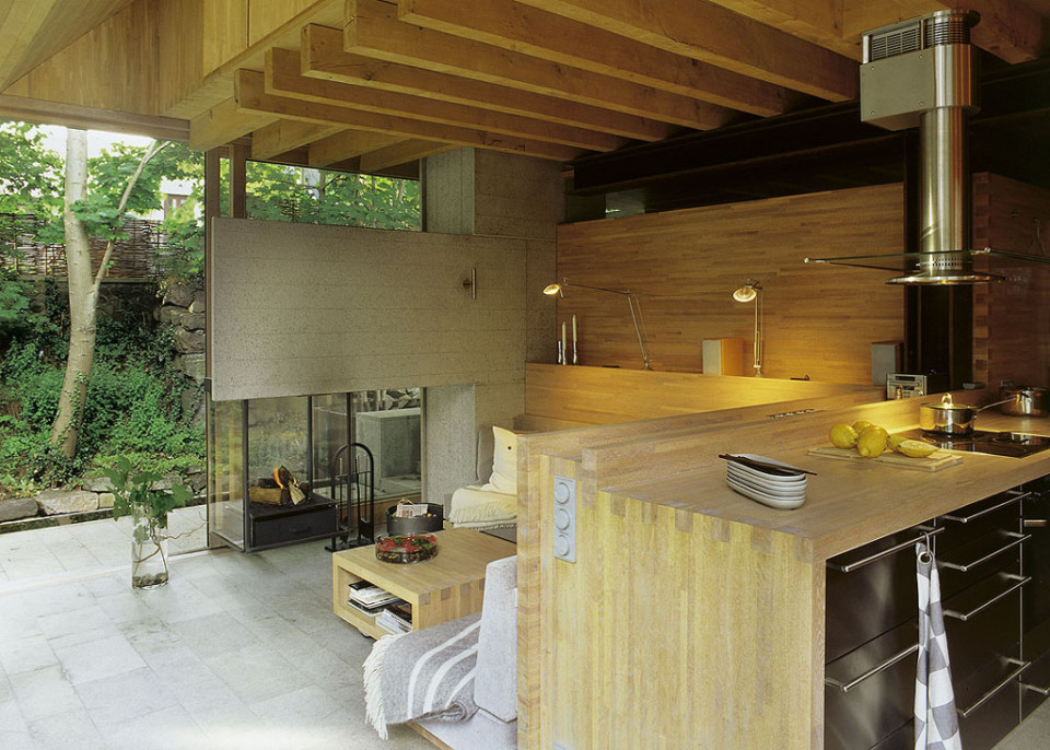 contemporary cottage house in moutain with pool (11)