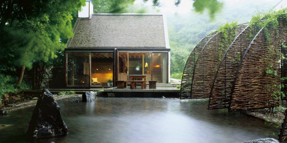 contemporary cottage house in moutain with pool (2)