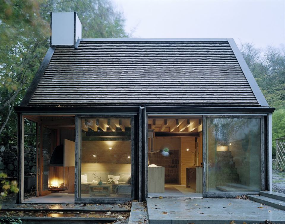 contemporary cottage house in moutain with pool (3)