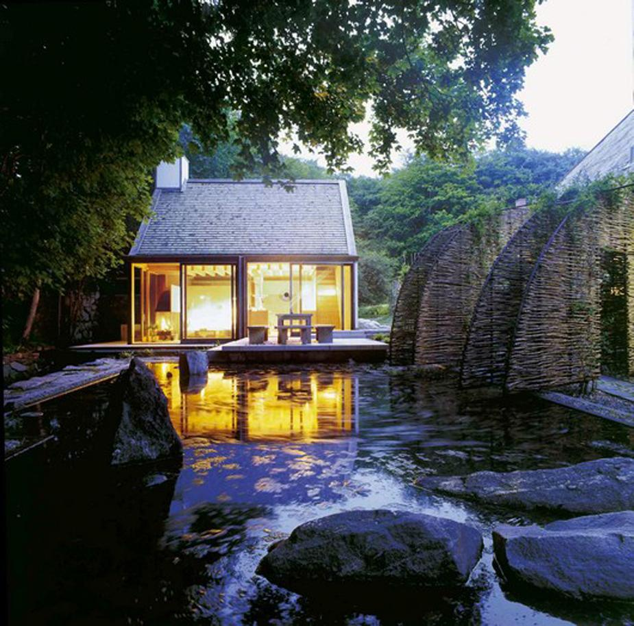 contemporary cottage house in moutain with pool (7)