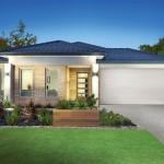 แบบบ้านชั้นเดียว ออกแบบเรียบร่วมสมัย พื้นที่ใช้งานภายในกว้างขวาง โล่งสบายตา