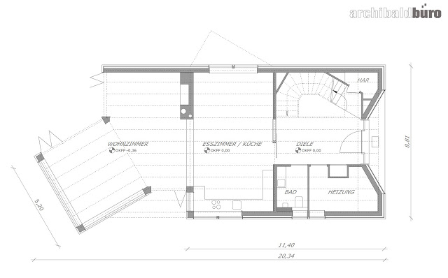 contemporary lake house two storey with modern interior (14)