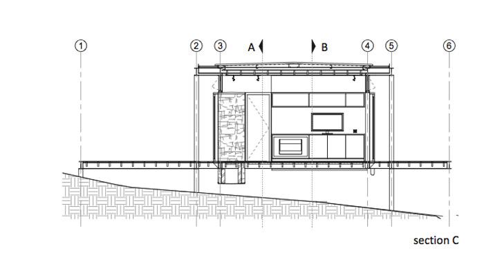 contemporary modern house in peachful garden (16)