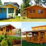30 ไอเดียบ้านกระท่อมไม้ ออกแบบเรียบง่ายน่ารัก ไว้เป็นแนวทางสร้างบ้านสวย