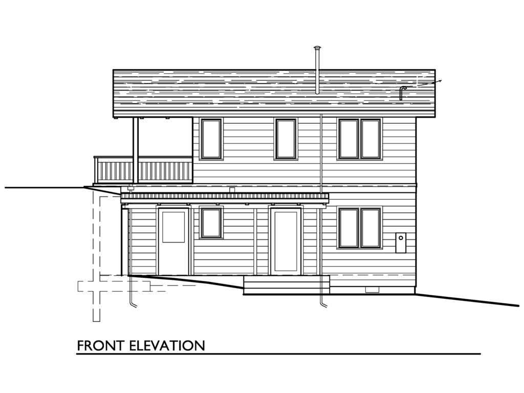 cottage 2 storey 2 bedrooms plan (1)