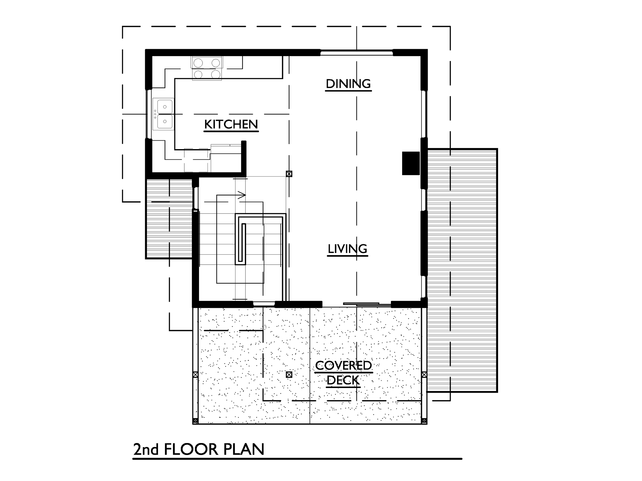 cottage 2 storey 2 bedrooms plan (6)