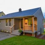 บ้านทรงกระท่อมไม้แบบเรียบง่าย ขนาด 3 ห้องนอน 2 ห้องน้ำ ภายในแต่งโล่งสบาย