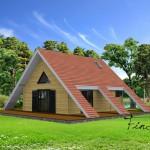 บ้านทรงกระท่อม กับการออกแบบอันเป็นเอกลักษณ์ แรงบันดาลใจจากวิถีชีวิตดั้งเดิม