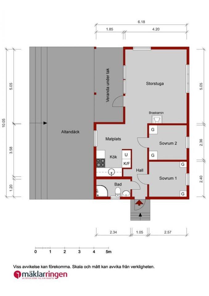 cottage house idea scandinevian style (20)