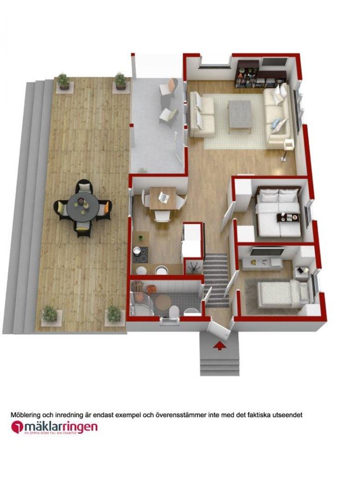 cottage house idea scandinevian style (21)