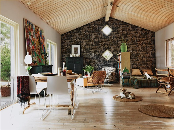 cottage house in sweden design bright (5)