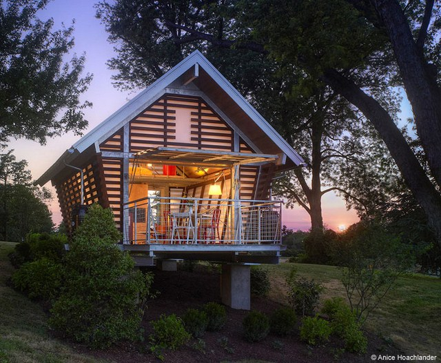 cottage modern house loft style (1)