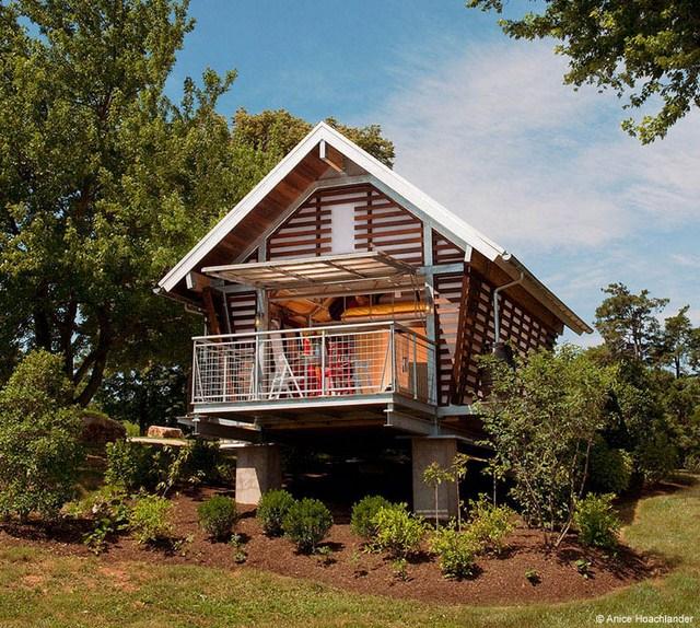 cottage modern house loft style (2)