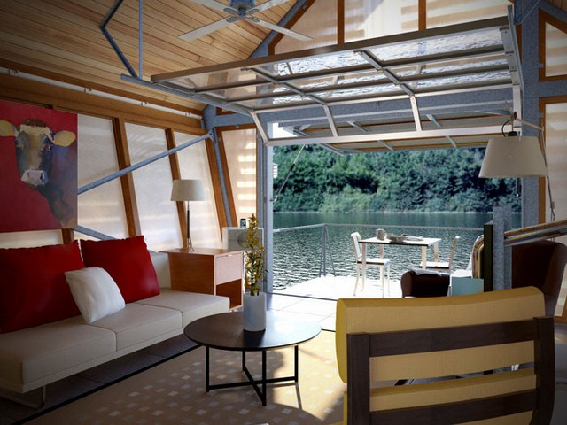cottage modern house loft style (3)