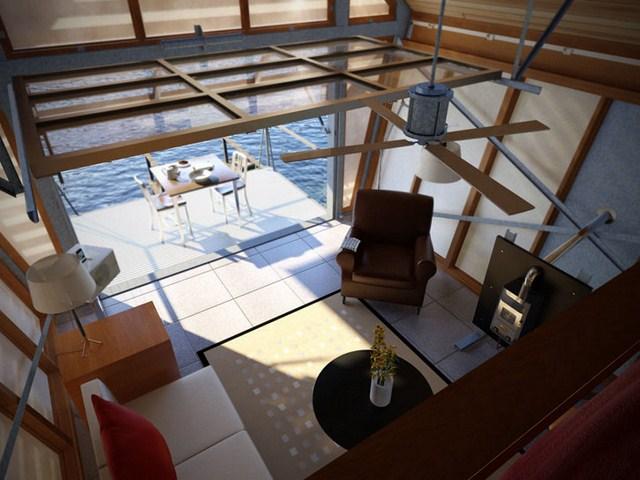 cottage modern house loft style (5)
