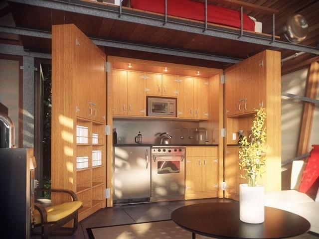 cottage modern house loft style (7)