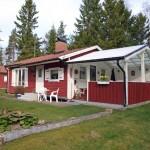 บ้านไม้ชั้นเดียวออกแบบในสไตล์คันทรี ขนาดเล็กพอใช้งานได้ กับชีวิตเรียบง่ายสบายๆ