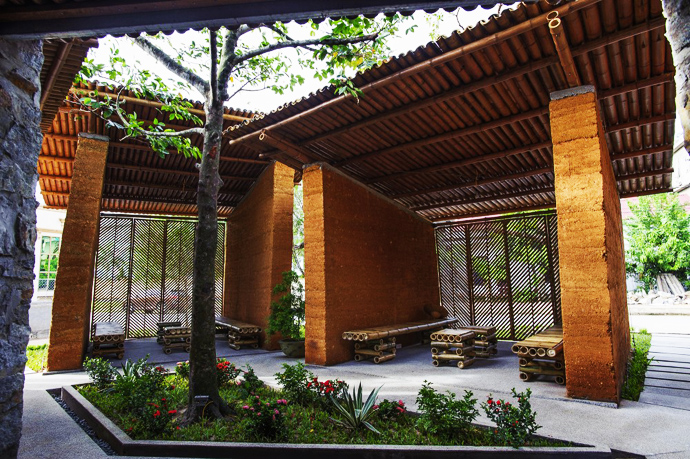 earth stone bamboo eco house in vietnam (10)