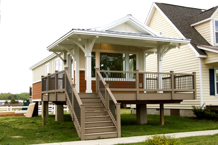 Eco house for Prefab beach cottage