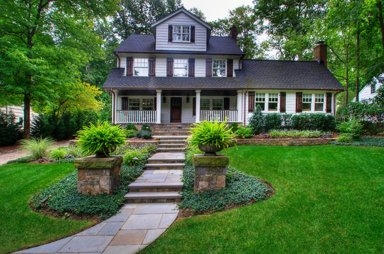 house front yard decorating ideas (12)