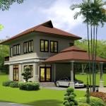 แบบบ้านไทยประยุกต์ 'บ้านบุหรง' ออกแบบอย่างโดดเด่นมีสไตล์ กับแนวคิดบ้านสำหรับเมืองไทย