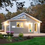 แบบบ้านไม้ทรงกระท่อม ออกแบบให้ดูสวยมีเอกลักษณ์ บนพื้นฐานของความเรียบง่ายสบายๆ