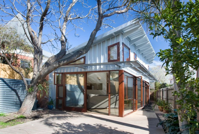 metal sheet house with cun wind bright in australia (1)