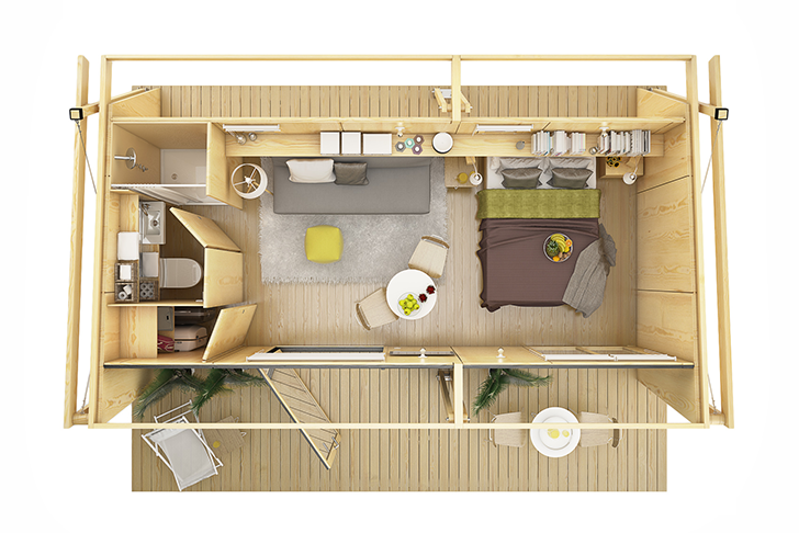 mini compact house wood from spain for living in the future (1)
