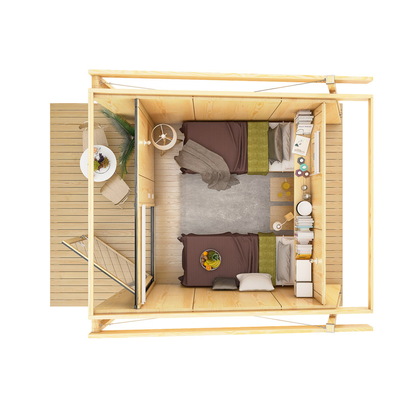 mini compact house wood from spain for living in the future (11)