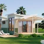 บ้านไม้ชั้นเดียวไอเดียเก๋ๆ ออกแบบอย่างเป็นเอกลักษณ์ ในพื้นที่พอใช้งานกำลังดี