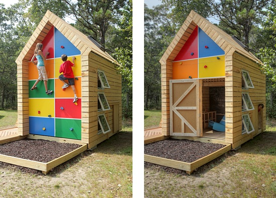mini wooden cottage house for family and children (4)