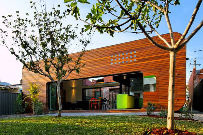 modern box compact house with vivid color in australia (1)