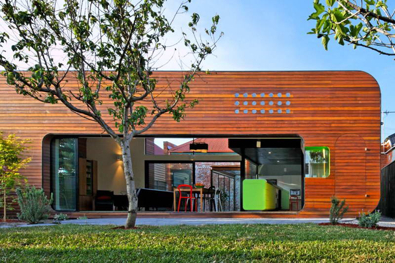 modern box compact house with vivid color in australia (2)