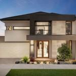 บ้านสองชั้น ออกแบบให้มั่นคงแข็งแรง ตกแต่งสไตล์ร่วมสมัย ดูดีทั้งภายนอกและภายใน