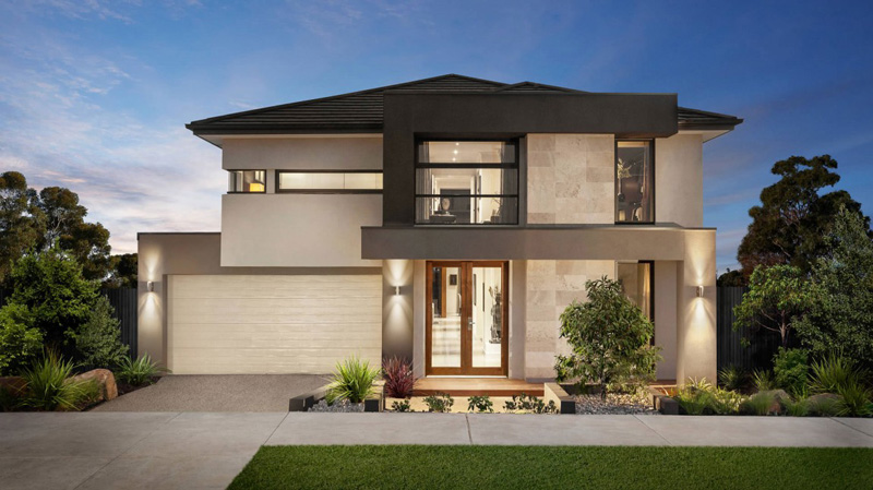 modern contemporary house 14m wide for large family (1)