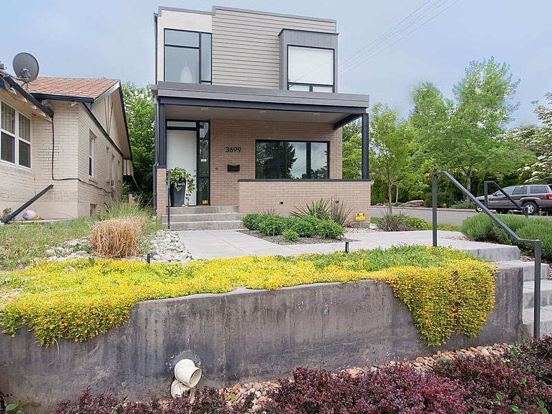 modern contemporary townhouse platform with bright design (1)