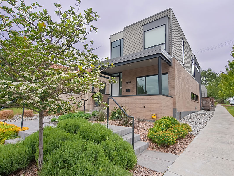 modern contemporary townhouse platform with bright design (2)