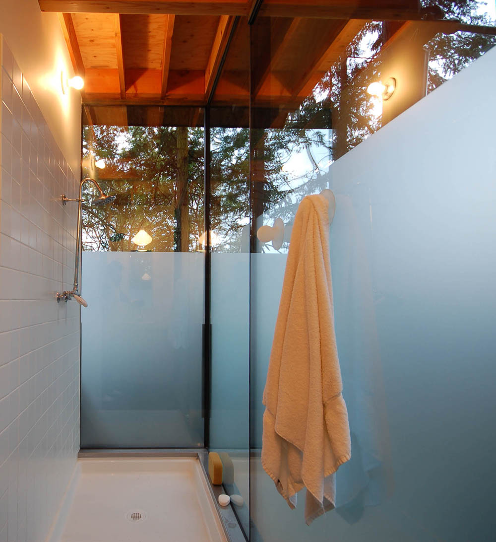 modern cottage glass wall in forest (4)