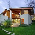 แบบบ้านสองชั้น ออกแบบสมัยใหม่อย่างเป็นเอกลักษณ์ เพื่อการใช้ชีวิตทุกรูปแบบ